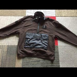 Nike af1 half zip fleece top men's small